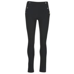tekstylia Damskie Spodnie z pięcioma kieszeniami Morgan PSHAPA Czarny