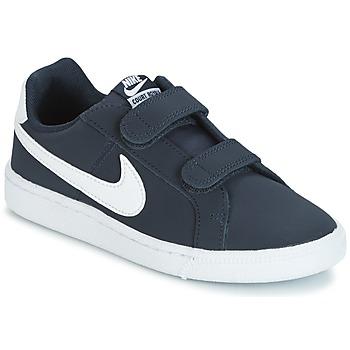 Buty Dziecko Trampki niskie Nike COURT ROYALE PRESCHOOL Niebieski / Biały
