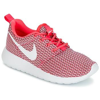 Buty Dziewczynka Trampki niskie Nike ROSHE ONE GRADE SCHOOL Różowy / Biały