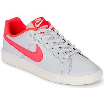 Buty Dziewczynka Trampki niskie Nike COURT ROYALE GRADE SCHOOL Szary / Różowy
