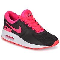 Buty Dziewczynka Trampki niskie Nike AIR MAX ZERO ESSENTIAL GRADE SCHOOL Czarny / Różowy