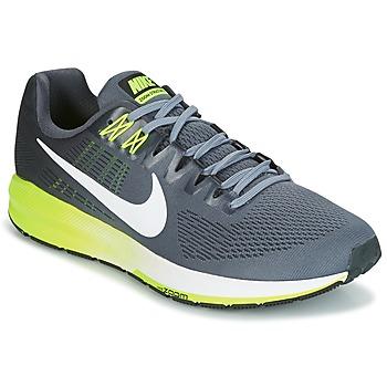 Buty Męskie Bieganie / trail Nike AIR ZOOM STRUCTURE 21 Szary
