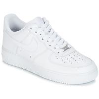 Buty Męskie Trampki niskie Nike AIR FORCE 1 07 Biały