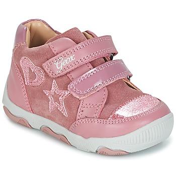 Buty Dziewczynka Trampki niskie Geox B N.BALU' G. C Różowy