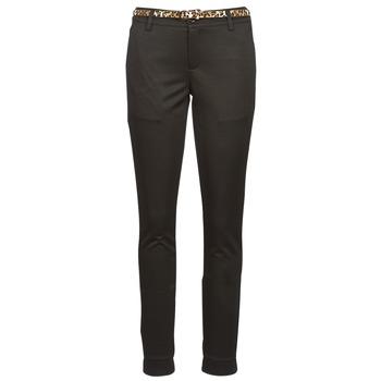 tekstylia Damskie Spodnie z pięcioma kieszeniami Betty London IGRIBANO Czarny
