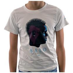 tekstylia Dziecko T-shirty z krótkim rękawem Puma  Biały