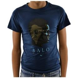 tekstylia Dziecko T-shirty z krótkim rękawem Puma  Niebieski