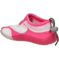 Buty Dziewczynka Trampki Everlast sneakers bianco tessuto rosa gomma AF851 Multicolore