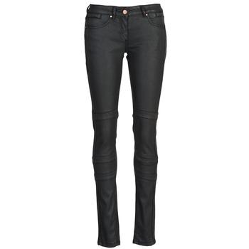 tekstylia Damskie Spodnie z pięcioma kieszeniami Kookaï FRANCES Czarny