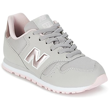 Buty Dziewczynka Trampki niskie New Balance KJ374 Szary / Różowy