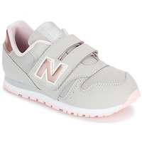 Buty Dziewczynka Trampki niskie New Balance KV373 Szary / Różowy