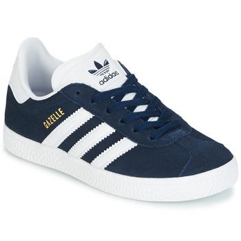 Buty Chłopiec Trampki niskie adidas Originals Gazelle C Marine