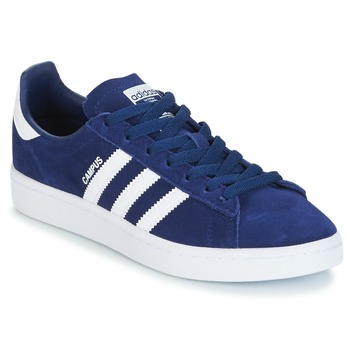 Buty Chłopiec Trampki niskie adidas Originals CAMPUS J Marine