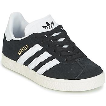 Buty Dziecko Trampki niskie adidas Originals GAZELLE C Czarny