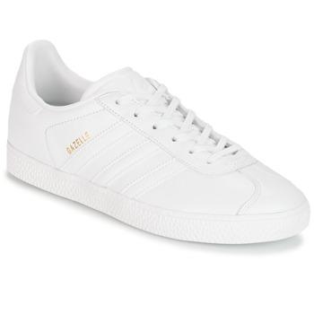 Buty Dziecko Trampki niskie adidas Originals GAZELLE J Biały