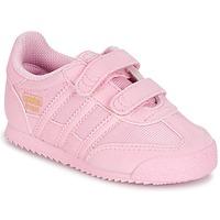 Buty Dziewczynka Trampki niskie adidas Originals DRAGON OG CF C Różowy