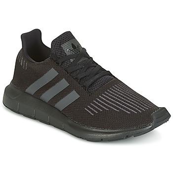 Buty Dziecko Trampki niskie adidas Originals SWIFT RUN J Czarny