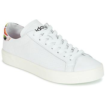 Buty Damskie Trampki niskie adidas Originals Court Vantage Biały / FLEURS
