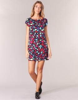 tekstylia Damskie Sukienki krótkie Love Moschino WVF0300T9171 Wielokolorowe