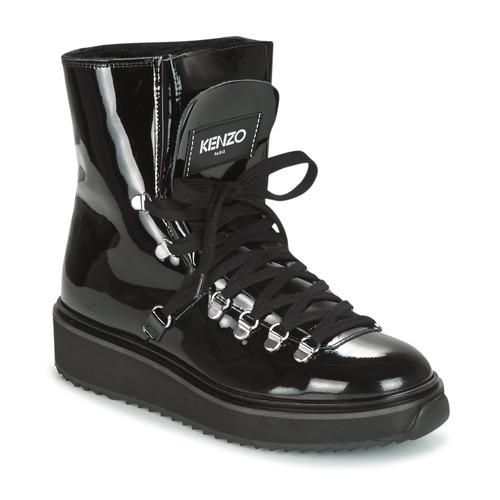 Buty Damskie Śniegowce Kenzo ALASKA Czarny