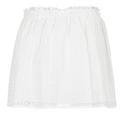 tekstylia Damskie Spódnice Betty London GIRMOU Biały