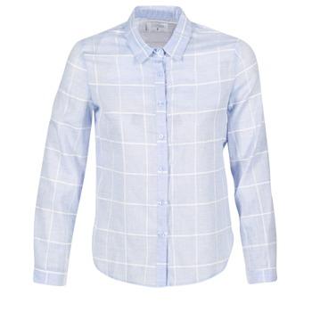 tekstylia Damskie Koszule Casual Attitude GAMOU Niebieski / Biały