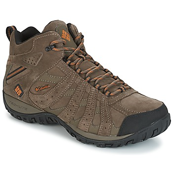 Buty Męskie Trekking Columbia REDMOND MID LEATHER OMNI-TECH TAUPE