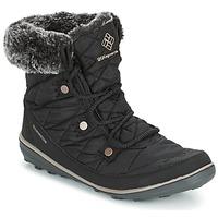 Buty Damskie Śniegowce Columbia HEAVENLY SHORTY OMNI-HEAT Czarny