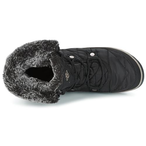 HEAVENLY SHORTY OMNI-HEAT  Columbia  śniegowce  damskie  czarny