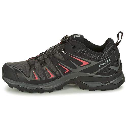 Salomon X Ultra 3 Gtx® Czarny / Czerwony - Buty Buty-trekking Damskie 62146 Najniższa Cena