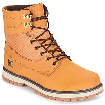 Buty Męskie Buty za kostkę DC Shoes UNCAS M BOOT TBK Beżowy / Czarny / Brązowy