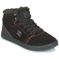 Buty Dziecko Trampki wysokie DC Shoes CRISIS HIGH WNT Czarny / Czerwony / Biały