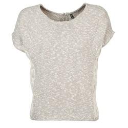tekstylia Damskie T-shirty z krótkim rękawem Naf Naf MILLON Szary
