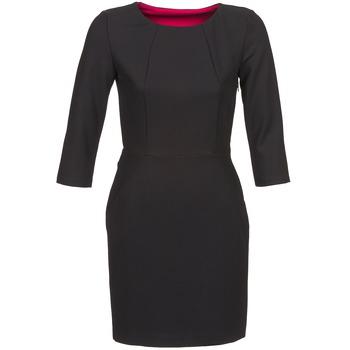 tekstylia Damskie Sukienki krótkie Naf Naf EPARCIE Czarny