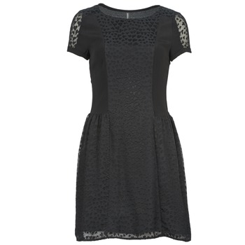 tekstylia Damskie Sukienki krótkie Naf Naf KEUR Czarny