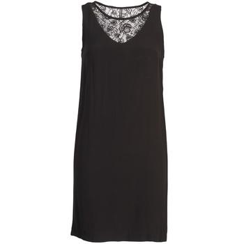 tekstylia Damskie Sukienki krótkie Naf Naf LYSHOW Czarny