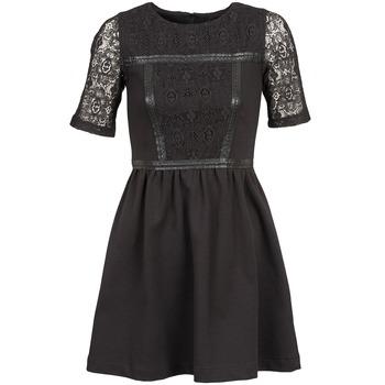 tekstylia Damskie Sukienki krótkie Naf Naf OBISE Czarny