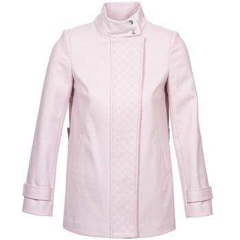 tekstylia Damskie Płaszcze Naf Naf ACORA Różowy