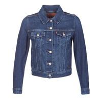 tekstylia Damskie Kurtki jeansowe Levi's ORIGINAL TRUCKER Niebieski / Jean