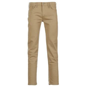 tekstylia Męskie Jeansy slim fit Levi's 511 SLIM FIT Beżowy