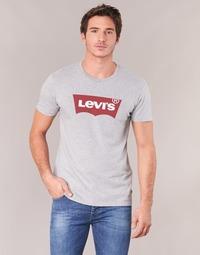 tekstylia Męskie T-shirty z krótkim rękawem Levi's GRAPHIC SET-IN Szary