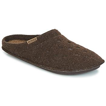 Buty Obuwie domowe Crocs CLASSIC SLIPPER Brązowy