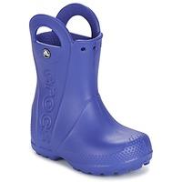 Buty Dziecko Kalosze Crocs HANDLE IT RAIN BOOT Niebieski