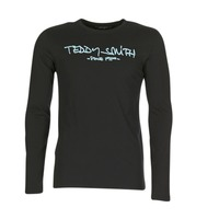tekstylia Męskie T-shirty z długim rękawem Teddy Smith TICLASS 3 ML Czarny