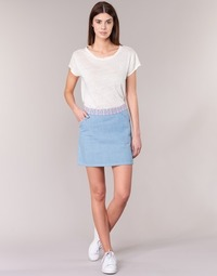 tekstylia Damskie Spódnice Yurban  Niebieski