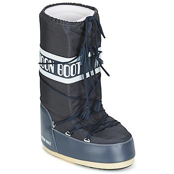 Buty Śniegowce Moon Boot MOON BOOT NYLON DENIM