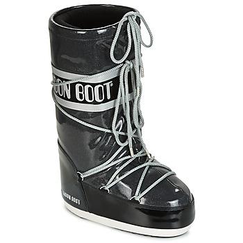 Buty Damskie Śniegowce Moon Boot MOON BOOT STARRY Czarny / Biały