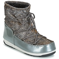 Buty Damskie Śniegowce Moon Boot MOON BOOT LOW LUREX Szary / Argenté