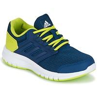 Buty Chłopiec Bieganie / trail adidas Performance GALAXY 4 K Niebieski