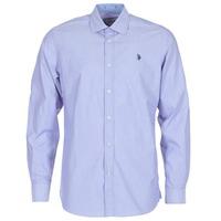 tekstylia Męskie Koszule z długim rękawem U.S Polo Assn. RUSTY MARINE